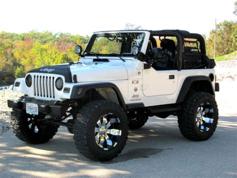 Jeep Tj 1j4fa39s26p734906 2006 6 Quot Lifted Jeep Wrangler X Tj 6