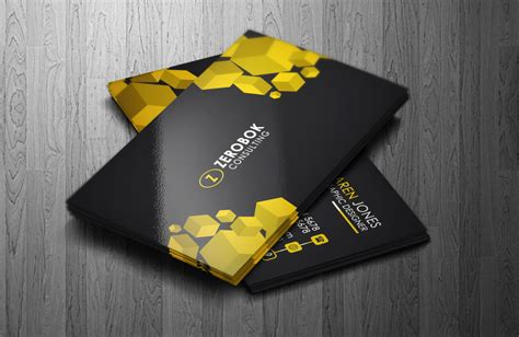 Business Cards Templates 4over by Zerobok Professional Business Card Template Luxurious
