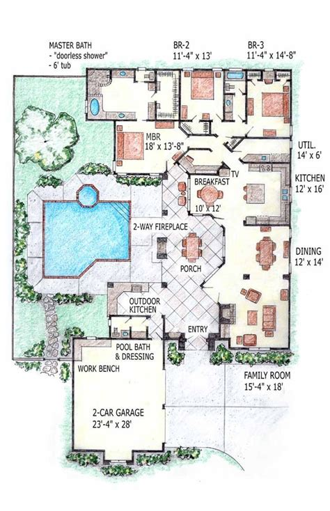 types of house plans small pool house plans ideas different types of inground