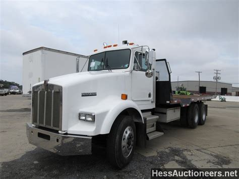 trailers kenworth for sale used 1987 kenworth t800 rollback truck for sale in pa 20185