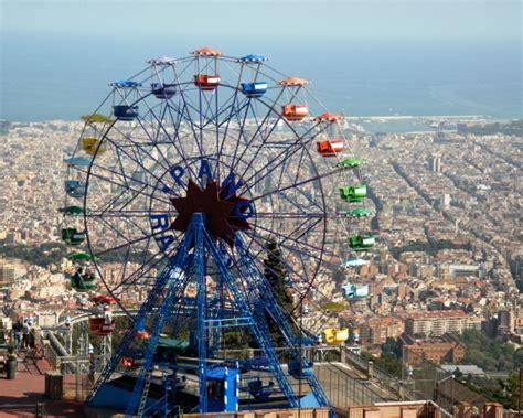 theme park near barcelona barcelona s tibidabo amusement park etraveltrips com