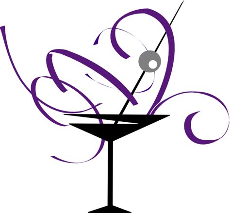 martini glasses clipart purple and gray martini glass clip art at clker com