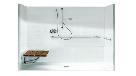 Standard Shower Insert Shower Inserts With Seat Ada Shower Stall Dimensions Ada
