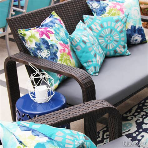 How To Recover Patio Cushions by Diy With Style The No Sew Way To Reupholster Outdoor