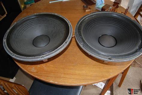 Speaker Kenwood 15 Inch ev sh 1502er pair of 15 inch woofer photo 149875 canuck audio mart