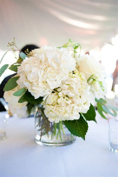 love all white flower arrangements love pinterest