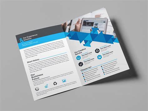 classy bifold brochure template 000432 template catalog