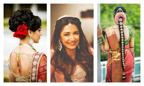 traditional indian wedding hairstyles 15 indian wedding hairstyles for a traditional look