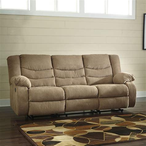 tulen reclining sofa reviews tulen mocha reclining sofa signature design furniture cart