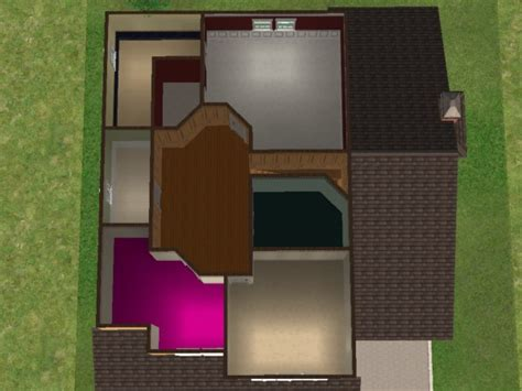 Houses For Narrow Lots by Mod The Sims 25 Maple Street 2 Story Family Home Based