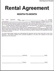 Simple Car Rental Agreement Template Word Printable Sle Simple Room Rental Agreement Form Real