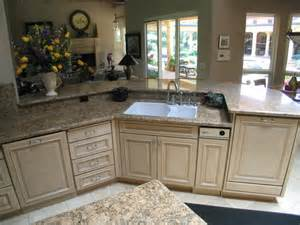 raised kitchen island raised dishwasher and breakfast counter jpg