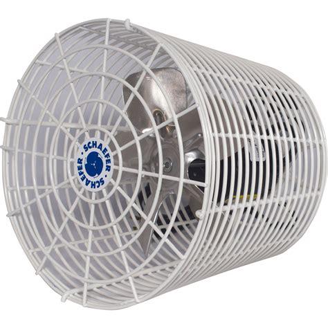 tractor supply shop fans schaefer versa kool greenhouse circulation fan 8in 450
