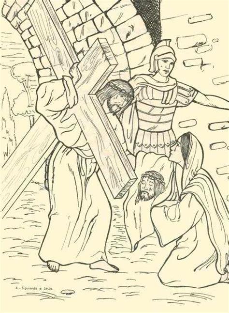 imagenes del via crucis en blanco y negro maribel se 241 o de reli v 205 a crucis para trabajar