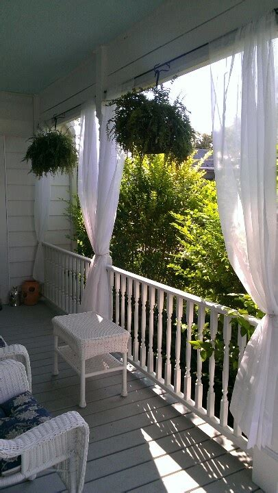 outdoor balcony curtains 25 best ideas about front porch curtains on pinterest