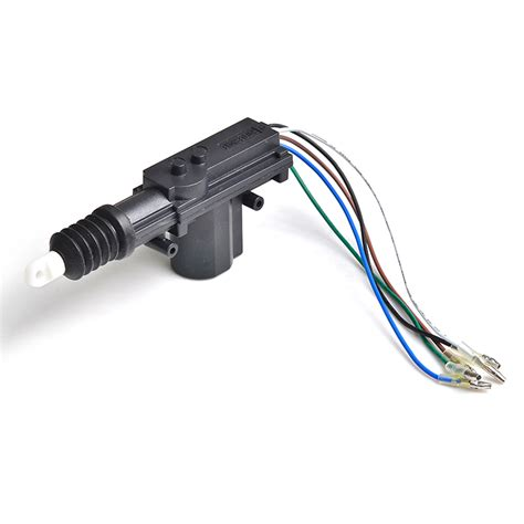 5 wire door lock system car central locking system cf301m 4 guns actuators and cable protection universal for all cars