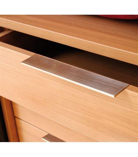 maniglie per cassetti maniglia piatta rettangolare per cassetti synthesis 766