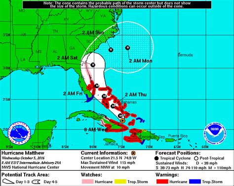 us weather map hurricane hurricane matthew could miss rhode island national