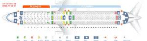 air canada 767 seat map seat map boeing 767 300 air canada best seats in plane