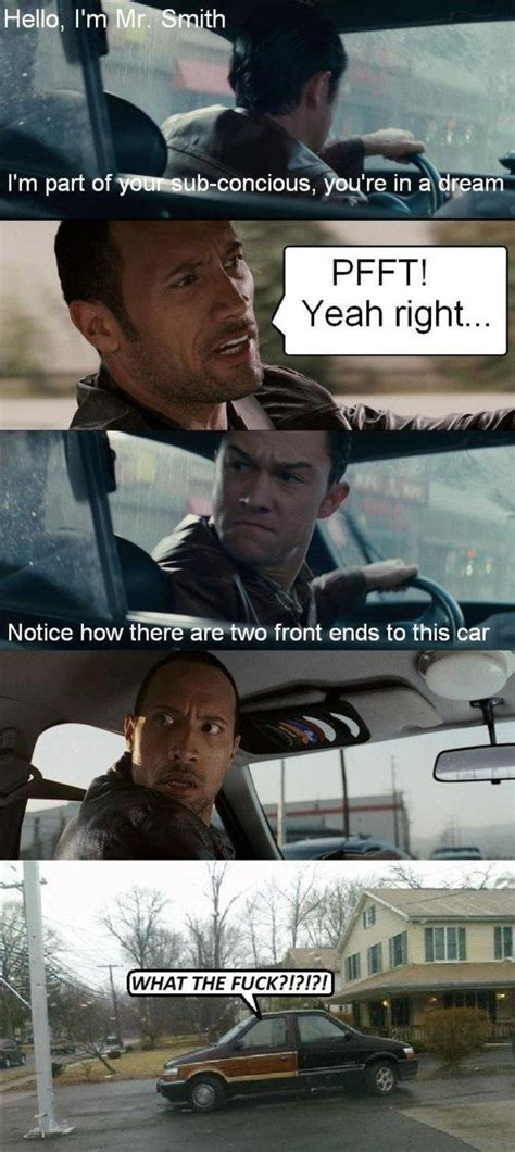Driving Meme - the rock driving know your meme