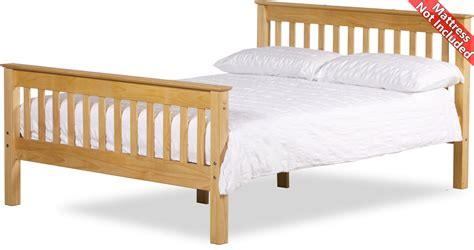 Somerset Bed Frame Amani Somersetbed46 Waxed Pine Beds