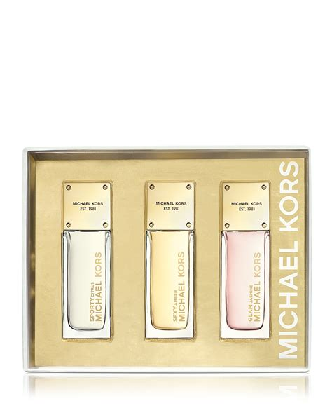 Parfum Miniature Wanita Michael Kors Glam 7ml Edp michael kors fragrance collection mini coffret bloomingdale s