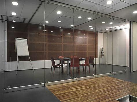per ufficio uffici con pareti mobili in vetro integrabili con pareti