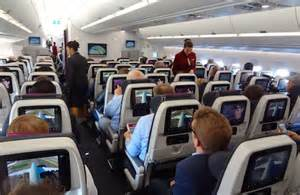 d 233 couverte en vol de la cabine de l a350 de qatar airways