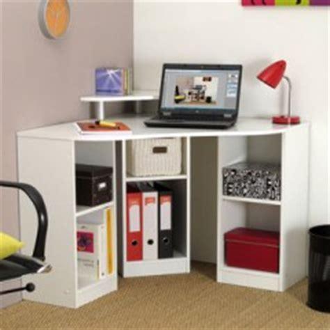 bureau enfant gain de place bureau angle petit espace meuble ordinateur conforama