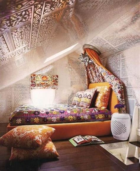 bohemian girls bedroom bohemian attic room dwell interiors pinterest