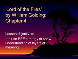 lord of the flies summary of chapter 10 youtube lord of the flies sow by nikkibrayne teaching resources