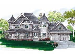 Victorian Queen Anne House Plans by Rich Victorian Design Hwbdo06578 Queen Anne From