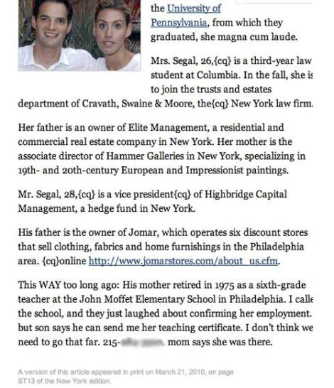 conta lettere nyt accidentally posts editor note about wedding