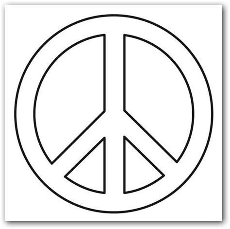 imagenes sobre simbolos de la paz simbolos de paz para colorear imagui