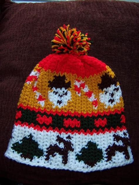crochet pattern ugly christmas sweater graphed beanie ugly christmas sweaters crochet pattern