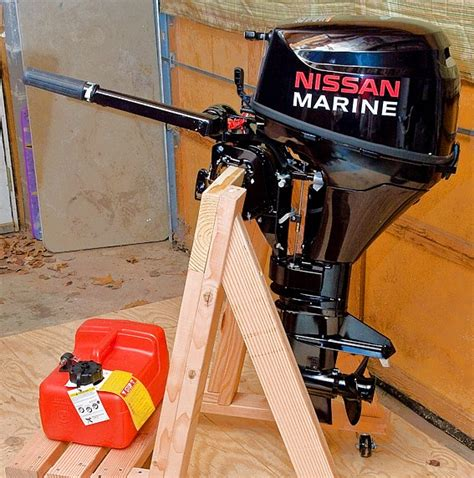 how to build a boat stand build your own portable outboard motor stand