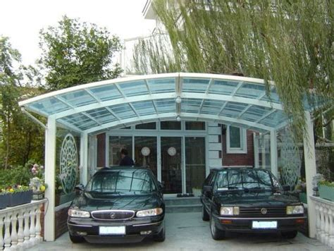 carport glas glass carport ideas could use metal roofing instead