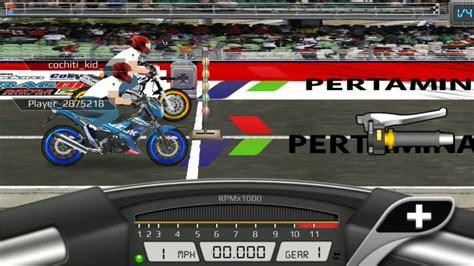 cara membuat game drag racing mod versi motor indonesia cara hack game drag racing bike di android gamesworld