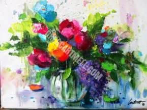 Flowers Shop Creating Flower Paintings At Garden Club Meetings