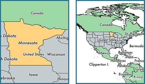 minneapolis in usa map where is minnesota state where is minnesota located in