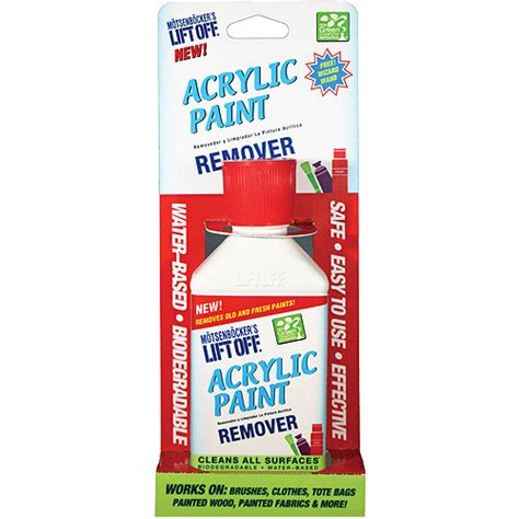 acrylic paint remover lift acrylic paint remover 4 5 oz walmart