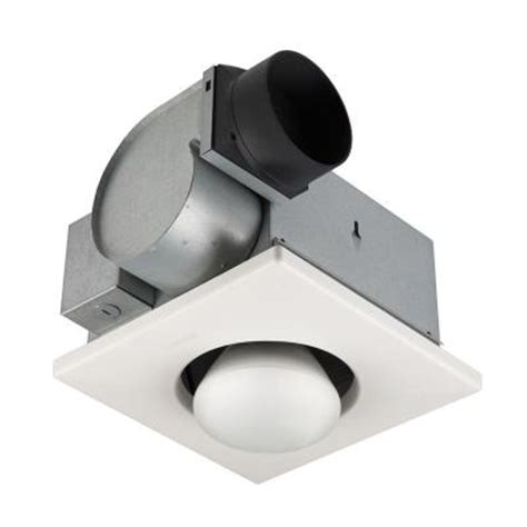 Heater Ceiling Fan Home Depot by Nutone 70 Cfm Ceiling Exhaust Fan With 1 250 Watt