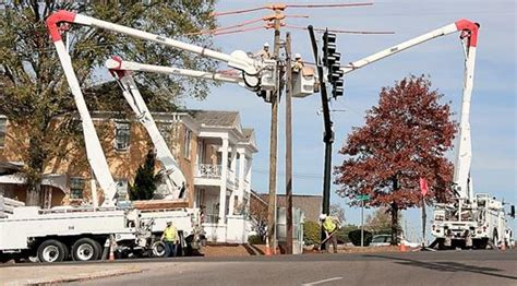 Stewart Works The Pole by Power Pole Replacement News Meridianstar