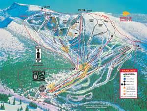 Flagstaff Snowfall ski santa fe trail map