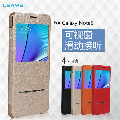 Back Cover Tutup Belakang Samsung Galaxy Note 5 Ori Back Door jual beli usams wyon flip cover view windows window