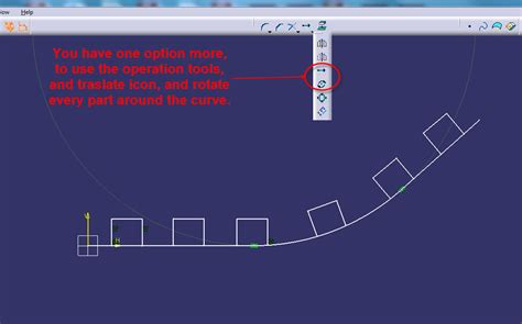 pattern along line solidworks how to copy translate a pattern along a curve in catia