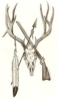 hunting tattoos on pinterest deer skulls hunting