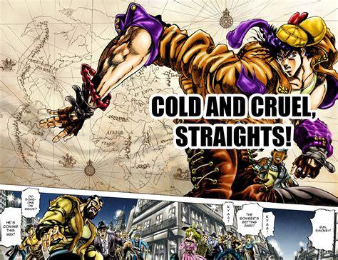 s colored jojo s colored adventure team cold and cruel straights