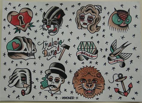 tattoo flash c est quoi various tattoo flash on illustration served