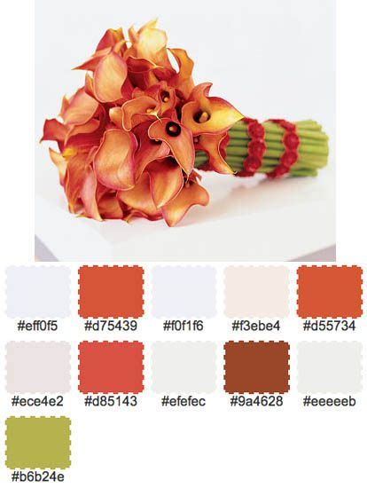 color palette wedding generator 1000 ideas about october wedding colors on